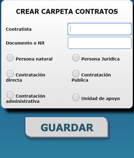 Crear contrato